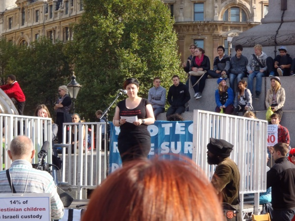 Slutwalk London 2012 speech Emily Rose