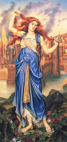 Cassandra. From: Wikipedia